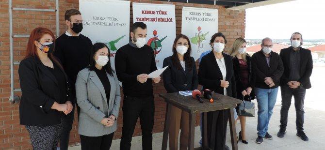 KTTB Tıp Haftası açılışı münasebetiyle basın açıklaması yaptı