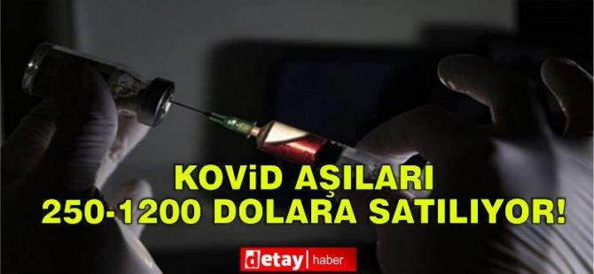 """""""Kovid-19 Aşıları Darknet'te Satılıyor"""""""