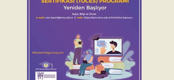 DAÜ – KAEM ile DAÜ – SEM İş Birliğinde Toplumsal Cinsiyet Eşitliği Sertifika Programı Devam Ediyor