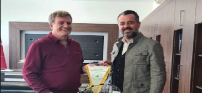 KKTF Başkanı Gazioğlu, Erhan Arıklı ile görüştü