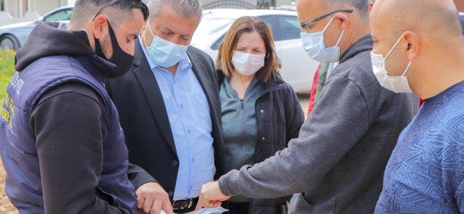 Tuzla'da Futbol Sahası Yapılması İçin Çalışmalar Devam Ediyor