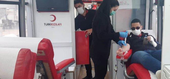 Gazimağusa Gelişim Akademisi'nde kan bağışı kampanyası