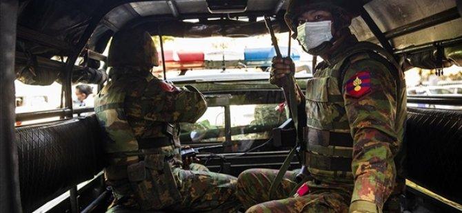 Myanmar Ordusu 1 Aylık Ateşkes İlan Etti