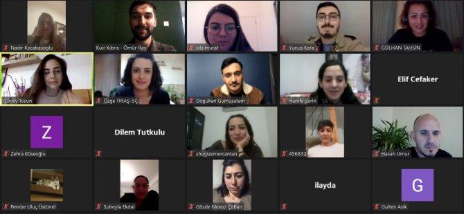 """Kuir Kıbrıs Derneği, """"Sosyal Hizmet Uzmanlarına Yönelik LGBTİ+ Farkındalık Eğitimi'ni"""" çevrimiçi olarak Gerçekleştirdi."""