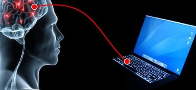 İnsan beyni kablo olmadan bilgisayara bağlandı