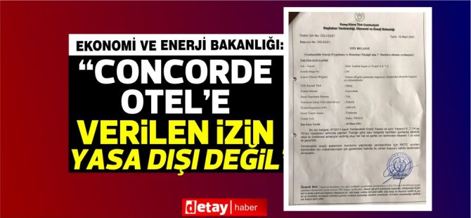 "Aşıkoğlu: ""Αυτό το είδος άδειας δίνεται αμέσως σε κάθε φορέα που ζητείται"""