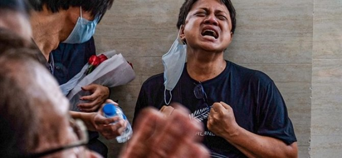 Myanmar'da Güvenlik Güçlerinin Silahlı Müdahalesiyle Ölen Sivillerin Sayısı 581'e Çıktı
