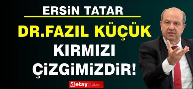 """Dr. Fazıl Küçük Müzesi'ni ziyaret eden Cumhurbaşkanı Tatar: """"Dr. Fazıl Küçük kırmızı çizgimizdir"""""""