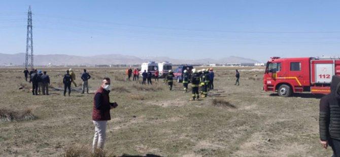 Konya'da eğitim uçağı düştü... TC MSB: Pilot şehit oldu