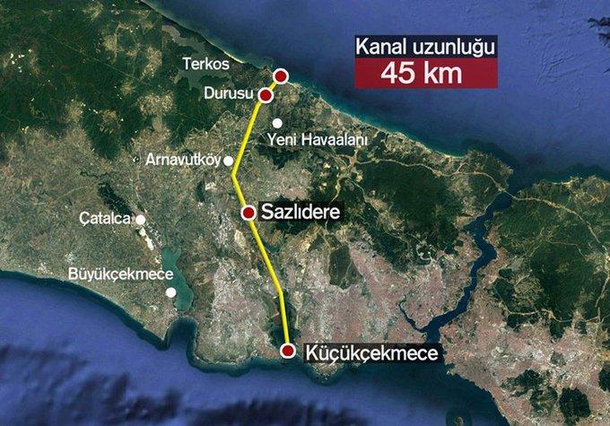 Kanal İstanbul'un etrafı nasıl bölüşüldü? Bugüne kadar kim ne kadar arsa aldı?