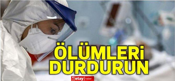 Türkiye'de Sağlık meslek odalarından açıklama: Ölümleri durdurun