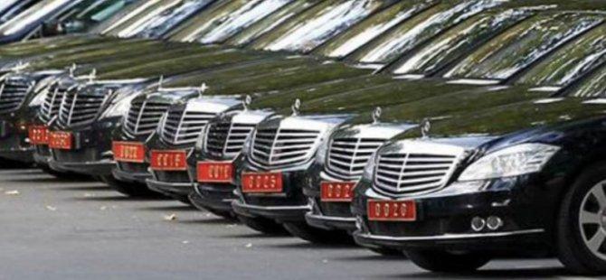 TC Cumhurbaşkanlığı'na 4 milyon 600 bin TL'lik araçlar: Kaç tane var?
