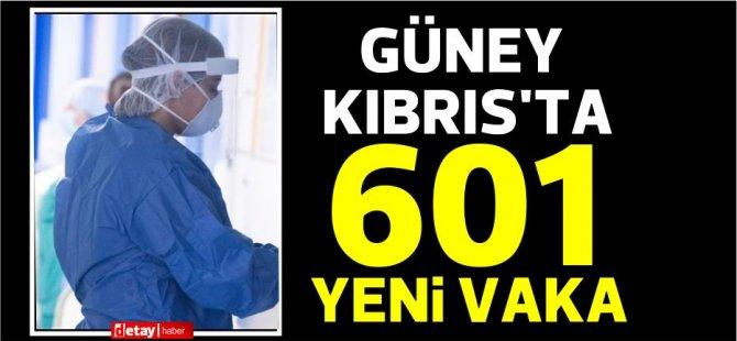 Güney Kıbrıs'ta 601 yeni Covid-19 vakası