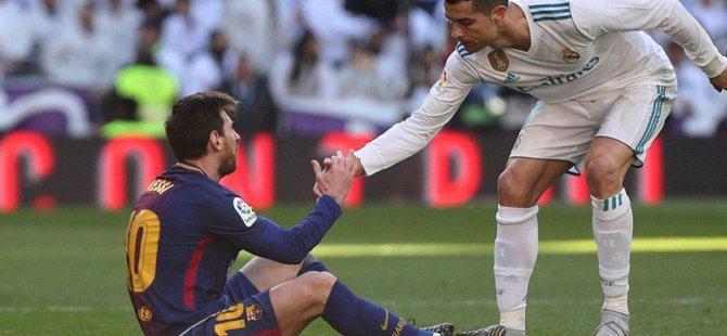 Ronaldo Real Madrid'den ayrıldığından beri, Messi'nin El Clasico'larda golü ve asisti yok