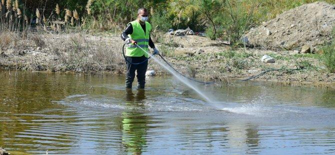 Η NTM έχει επεκτείνει το πεδίο ελέγχου των κουνουπιών · ρέματα και λίμνες ψεκάζονται, εντοπίζονται πόροι