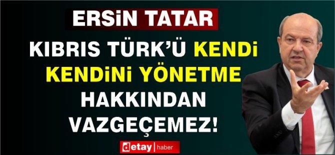 Cumhurbaşkan Tatar, Gazimağusa Muhtarlar Derneği yönetimini kabul etti