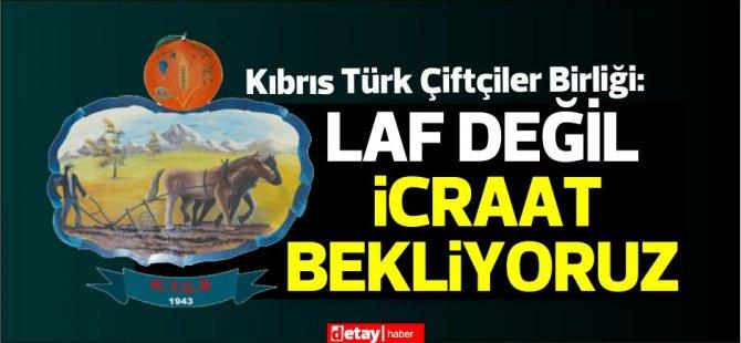 Kıbrıs Türk Çiftçiler Birliği:Artık tahammülümüz kalmamıştır