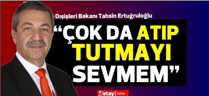 """Ertuğruloğlu: """"KKTC'den geçmeyen yol Kıbrıs Türk halkını çözüme götürmez"""""""