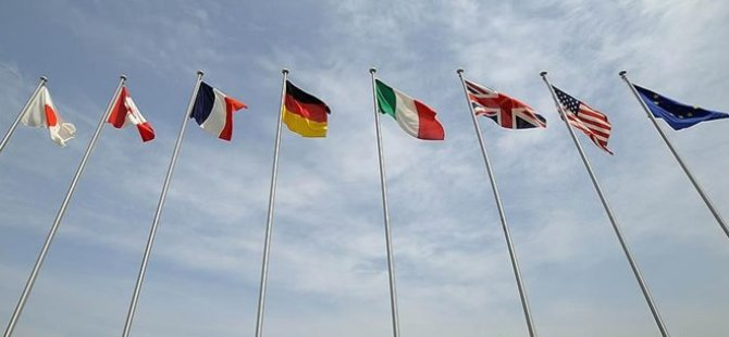 G-7 ülkeleri ve AB'den Rusya açıklaması