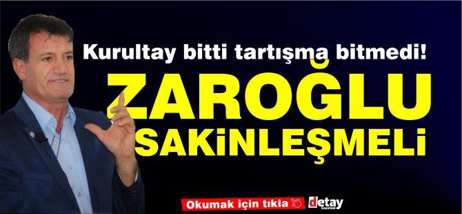 """Arıklı: Zaroğlu sakinleşmeli, """"Partiden ayrılmak için zemin hazırlıyor."""""""