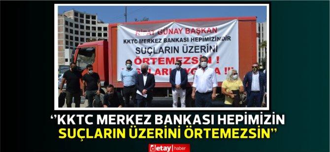 Erülkü:Başta Sayın Rifat Günay olmak üzere tüm yetkilileri protesto ediyoruz