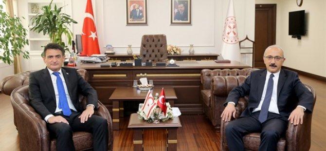 Maliye Bakanı Oğuz Ankara'da temaslarına devam ediyor