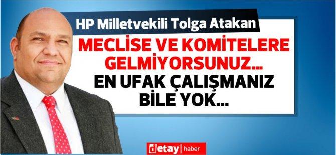 Atakan'dan Hükümete: Bu düzen Nisan 2022 tarihine kadar sürsün istiyorsunuz.. Başka arzunuz ??