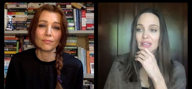 Angelina Jolie, Elif Şafak'a Türkiye'nin İstanbul Sözleşmesi'nden çekilmesini sordu