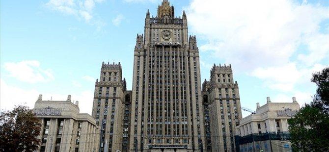 Rusya, Çekya'nın 20 Diplomatını İstenmeyen Kişi İlan Etti