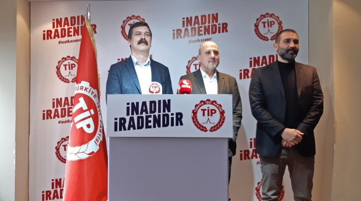 İstanbul Milletvekili Ahmet Şık, Türkiye İşçi Partisi'ne katıldı