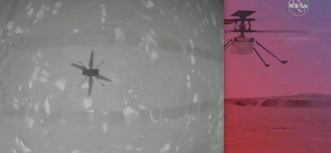 NASA duyurdu: Mars'ta tarihi helikopter uçuşu başarılı oldu