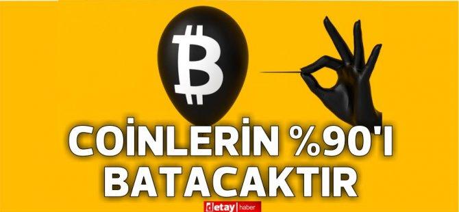Καθηγητής  Demzgür Demirtaş: Το 90 τοις εκατό των νομισμάτων θα βυθιστεί