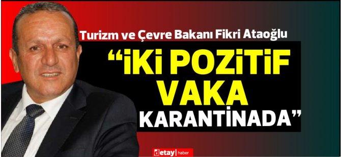 """Ataoğlu:""""Hotel çalışanları halkın içine karışmıyor"""""""