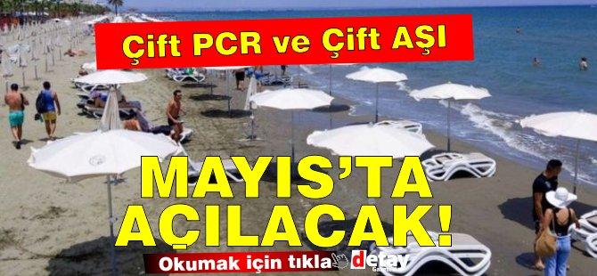 Mayıs ortasından sonra Çift PCR ve Çift Aşı ile Kuzey Kıbrıs'a  karantinasız girilebilecek