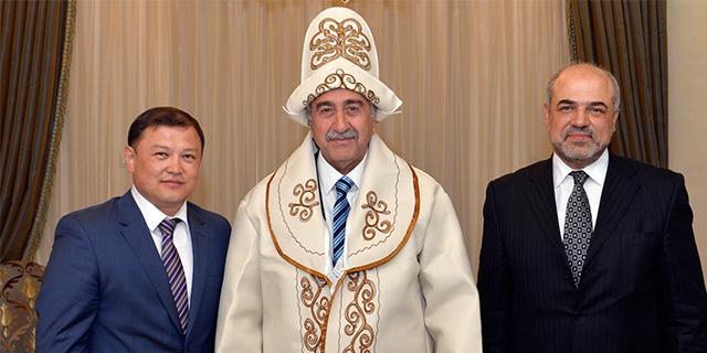 Cumhurbaşkanı, Kırgız Milletvekili ve Temsilciyi kabul etti