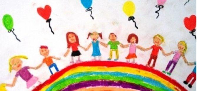 """Yuvalarda Kalan Çocukların Resimleriyle """"23 Nisan"""" Temalı Sergi Açılacak"""