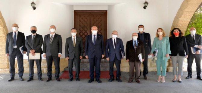Cumhurbaşkanlığı'nda Cenevre öncesi hazırlık toplantısı
