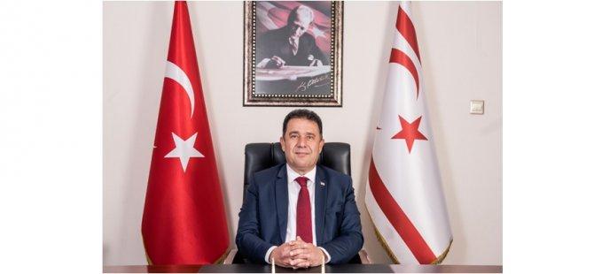 Başbakan Saner: Egemenliğe sahip çıkmak;Bağımsızlığa, özgürlüğe, ve demokrasiye sahip çıkmaktır