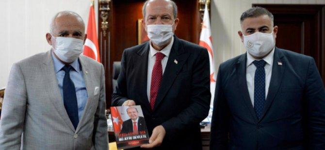 Cumhurbaşkanı Ersin Tatar'ın kitabı yayımlandı