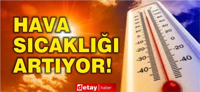 Sıcaklıklar mevsim normallerinin 3-4 derece üstünde