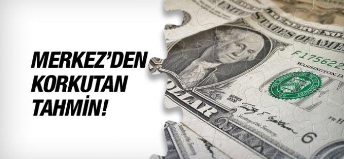 TC Merkez Bankası'nın yıl sonu dolar beklentisi 8,71'e çıktı