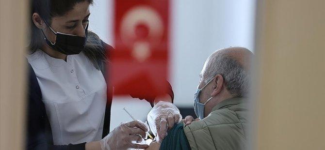 Türkiye'de İki Doz Kovid-19 Aşısı Yaptıranların Sayısı 10 Milyonu Aştı