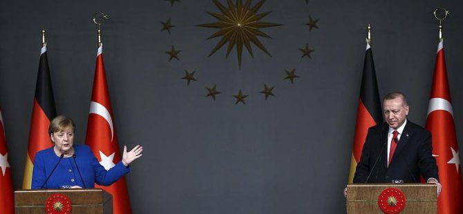 Merkel, Erdoğan'a Libya'dan yabancı askerlerin çekilmesinin, 'önemli mesaj' olacağını söyledi