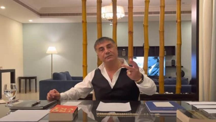T.C. İçişleri Bakanlığı'ndan Sedat Peker açıklaması