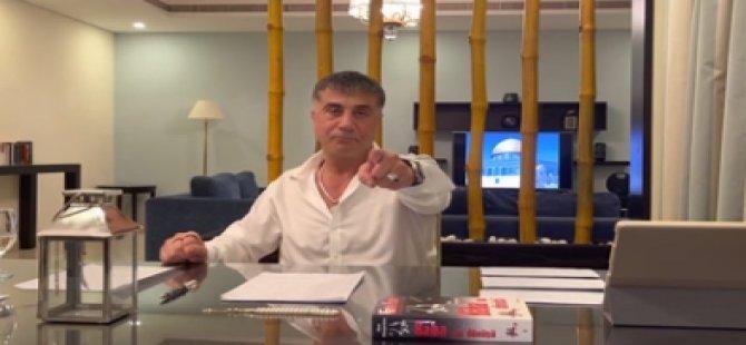 """Sedat Peker'den üçüncü video: """"Derin devletçiler, Pelikancılar bir tripoda bir kameraya yenileceksiniz"""""""