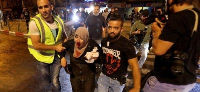İsrail polisi yine kan döktü: 90 yaralı