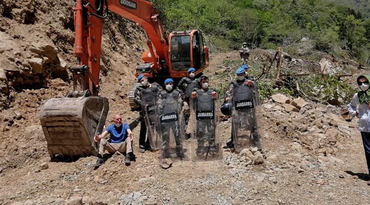 Rize Valiliği, İkizdere'de Cengiz İnşaat'ın taş ocağı projesine karşı yapılan eylemleri yasakladı