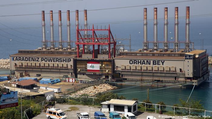 Türk şirket Lübnan şebekesine elektrik vermeyi durdurdu