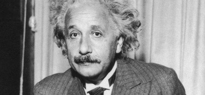 Einstein'in tanınmış formülü E=mc²'li mektup rekor fiyata satışa çıkıyor
