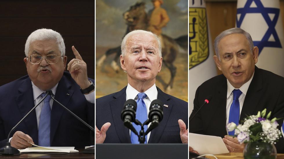 Joe Biden, Filistin Devlet Başkanı Abbas ile ilk telefon görüşmesini gerçekleştirdi, ayrıca Gazze bombalamalarının ardından İsrail Başbakanı Netanyahu'yu aradı